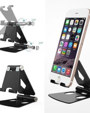 Supporto alluminio smartphone