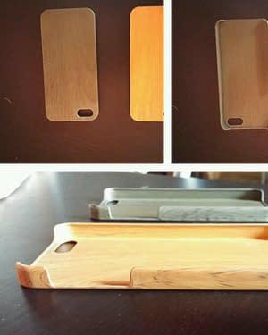 Custodia Cover in legno