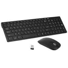 Tastiera e mouse wireless